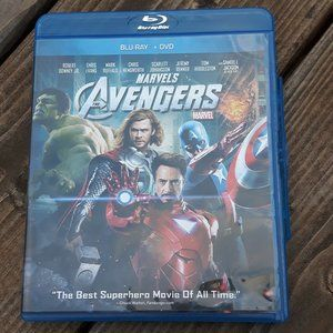 Marvels Avengers on Blu Ray and DVD MOVIE